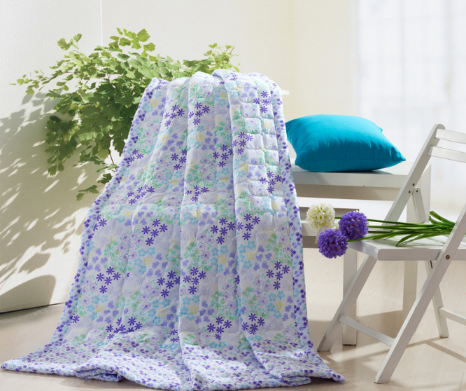 printed quilts(microfiber/cotton material)